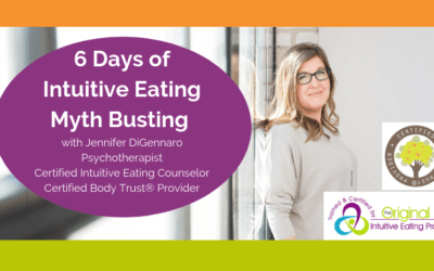 Intuitive Eating Myths